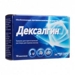 Buy Dexalgin granules 25 mg sachets 10 pcs