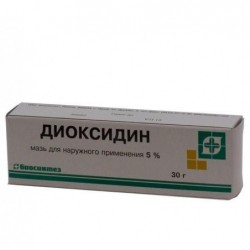 Buy Dioxidine ointment 5% ointment 5%, 30 g