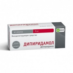 Buy Dipyridamole-FPO pills 75 mg 40 pcs