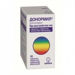 Buy Donormyl pills 15 mg 10 pcs