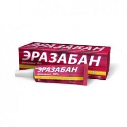 Buy Erazaban cream 10%, 2 g