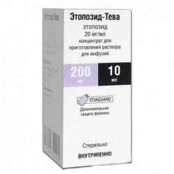 Buy Etoposide-Teva solution concentrate 20 mg/ml vial 10 ml