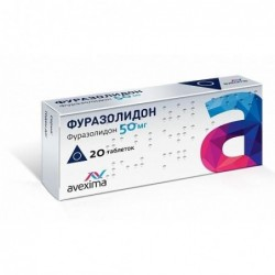 Buy Furazolidone pills 50 mg 20 pcs