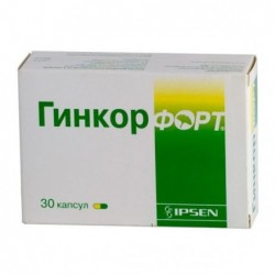 Buy Ginkor fort capsules 30 pcs