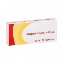 Buy Hydrochlorothiazide pills 25 mg 20 pcs