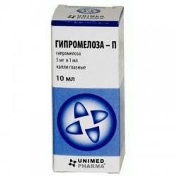 Buy Hypromeloza-p eye drops 5 mg/ml, 10 ml