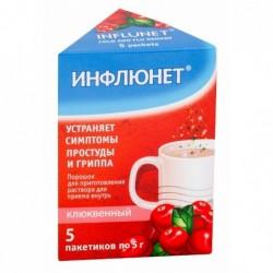Buy Influnet tea bags 5 g sachets 5 pcs