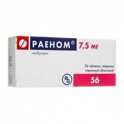 Buy Raen pills 7.5 mg 56 pcs