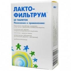 Buy Lactofiltrum pills 500 mg, 60 pcs