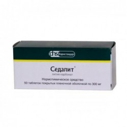 Buy Sedalit pills 300 mg, 50 pcs