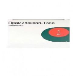 Buy Pramipexole-Teva pills 1 mg, 30 pcs