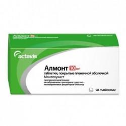 Buy Almont pills 10 mg 98 pcs