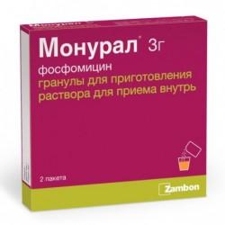 Buy Monurol® granules 3 g sachets 2 pcs