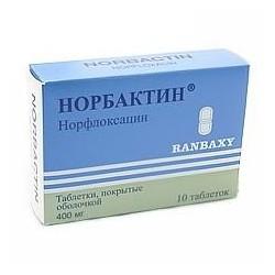 Buy Norbactin pills 400 mg 20 pcs packaging