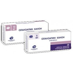 Buy Olanzapine pills 5 mg 28 pcs