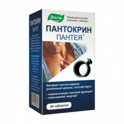 Buy Pantea Pantocrin pills 0.2 g, 40 pcs