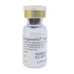 Buy Pergoveris bottle 150 + 75 IU