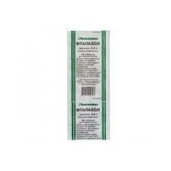 Buy Phthalazole pills 500 mg, 10 pcs