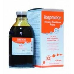 Buy Yodopirone solution 1% bottle 450 ml