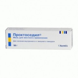 Buy Proctosedyl ointment 10 g