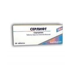 Buy Serlift pills 50 mg, 28 pcs