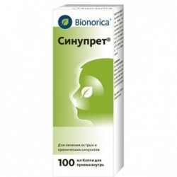 Buy Sinupret drops 100 ml