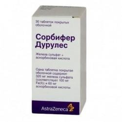Buy Sorbifer Durules pills 30 pcs
