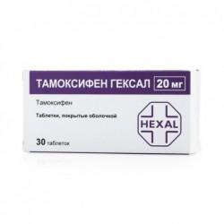 Buy Tamoxifen pills 20 mg, 30 pcs