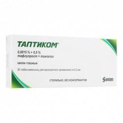 Buy Taptiqom eye drops 0.0015% + 0.5% 0.3 ml 30 ml