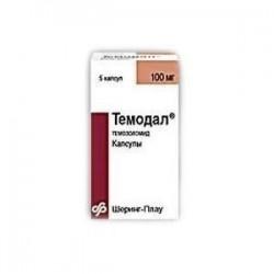 Buy Temodal capsules 100 mg, 5 pcs