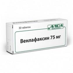 Buy Venlafaxine pills 75 mg 30 pcs packaging