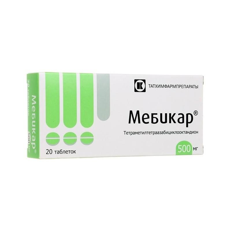 Buy Mebicar pills 500 mg 20 pcs