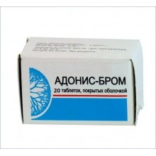 Buy Adonis bromine pills 20 pcs