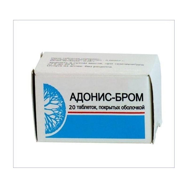 Buy Adonis bromine pills 20 pcs