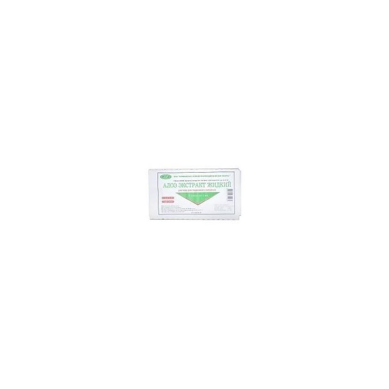 Buy Aloe vera extract liquid ampoules 1 ml, 10 pcs
