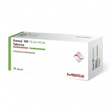 Buy Concor AM pills 10 mg + 10 mg 30 pcs
