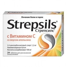 Buy Strepsils pills 24 pcs