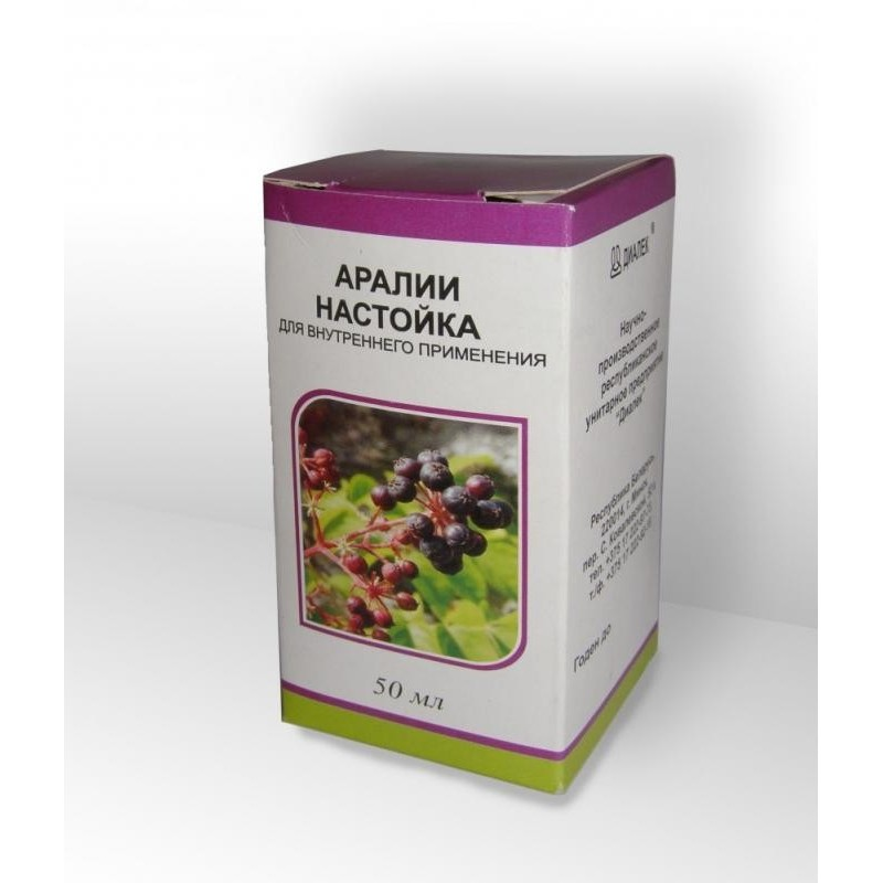 Buy Aralia tincture tincture 50 ml