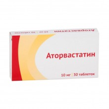Buy Atorvastatin pills 10 mg 30 pcs