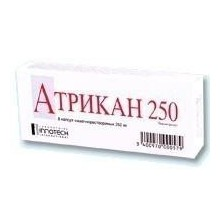 Buy Atrican 250 capsules 250 mg, 8 pcs