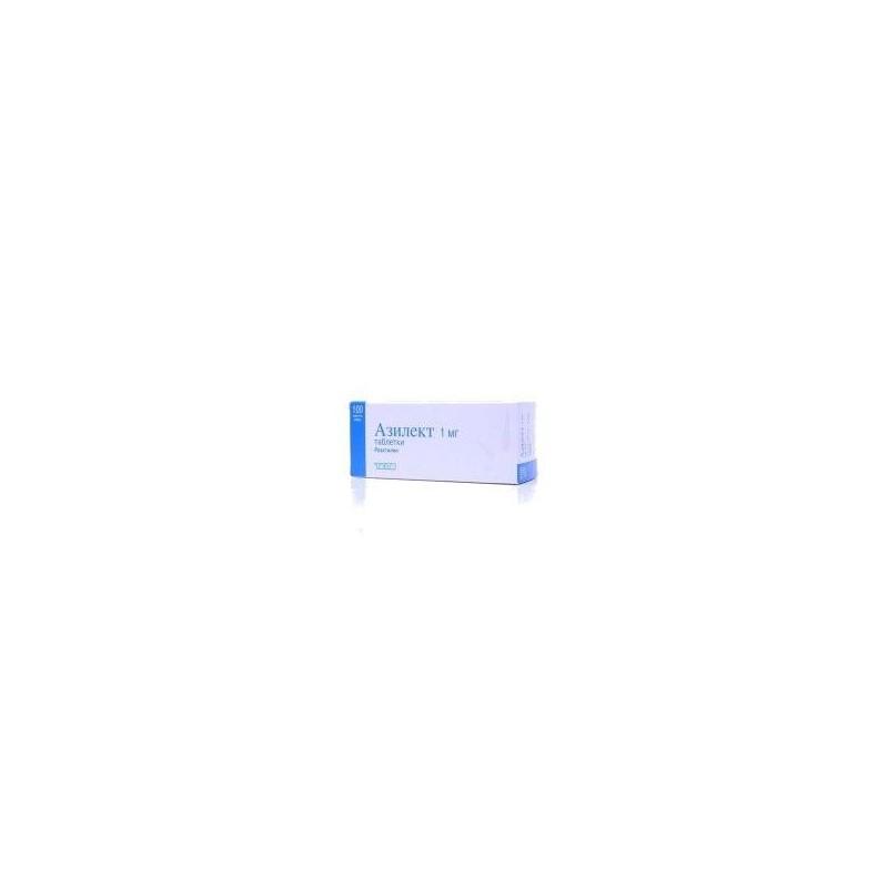 Buy Azilect® pills 1 mg 100 pcs