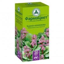 Buy Badana rhizome tea bags 1.5 g, 20 pcs