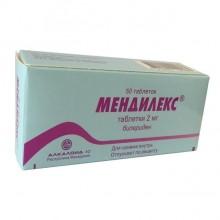 Buy Mendilex pills 2 mg 50 pcs