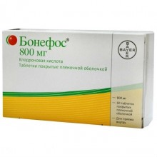 Buy Bonefos pills 800 mg, 60 pcs