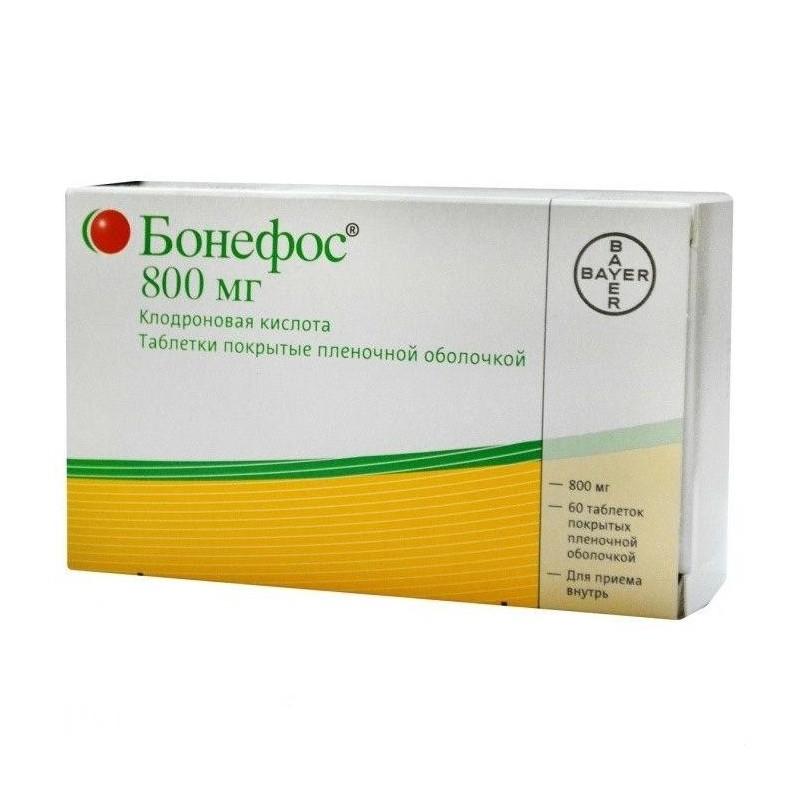 Buy Bonefos pills 800 mg, 60 pcs
