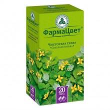 Buy Celandine grass tea bags 1.5 g, 20 pcs