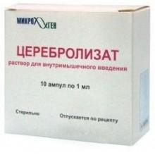 Buy Cerebrolysate ampoules 1 ml, 10 pcs