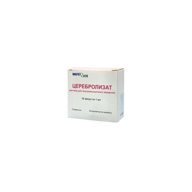 Buy Cerebrolysate ampoules 1 ml, 10 pcs