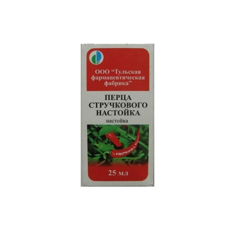 Buy Chilli pepper tincture tincture 25 ml