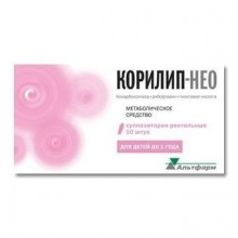Buy Corilip-NEO rectal suppositories 10 pcs